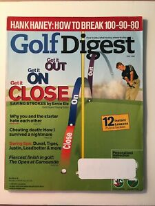 Vintage Golf Digest Magazine, July 1999, 192 Pages