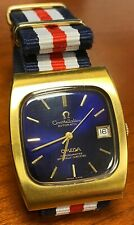 Vintage Omega Constellation with Custom Band (1970s), some wear, about 33 mm