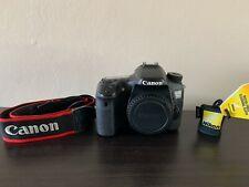 Canon EOS 70D 20.2MP Digital SLR DSLR Camera - Free Nikon Cleaning Cloth