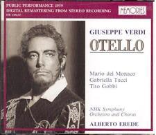 Verdi: Otello / Erede, Del Monaco, Tucci, Gobbi, Tokyo 4.2.1959 - CD