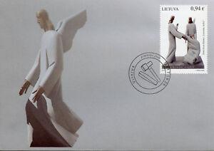 Lithuania 2017 FDC Contemporary Art Stanislovas Kuzma 1v Cover Sculptures Stamps