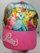 Disney Parks Princess 3 Baseball Hat Youth Velcro Closure