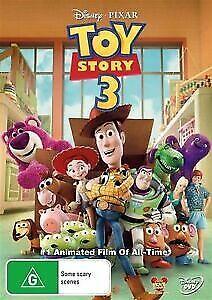 Disney - Toy Story 3 (DVD, 2010) NEW Region 4