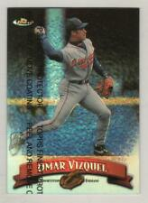 1998 Topps Finest Refractor #114 Omar Vizquel Cleveland Indians BV$8