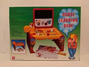Horse Learning Desk for Kids Ages 3 & Up - Learning Desk for Children New in Box