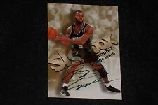 GEORGE LYNCH 1998-99 SKYBOX AUTOGRAPHICS CERTIFIED AUTOGRAPHED CARD GRIZZLIES