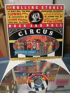 "1995 The Rolling Stones ""The Rock And Roll Circus"" Laserdisc Video Vintage RARE!"
