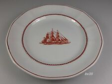 "WEDGWOOD FLYING CLOUD RUST BREAD & BUTTER PLATE  6 1/8"" - SET OF 2 PLATES - MINT"