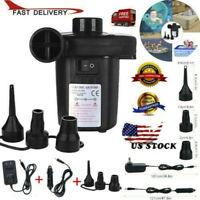 Best Pump Electric Air Pump Quick-fill Portable Inflator Deflator Air Mattress