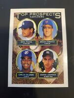 1993 Topps Gold #701 Mike Piazza/Brook Fordyce/Carlos Delgado MINT
