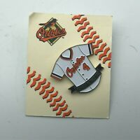 Vintage Baltimore Orioles Retired EARL WEAVER Number 4 Jersey Pin On Card   W6