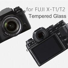 2-Pack Tempered Glass LCD Screen Protector for Fuji Fujifilm X-T1 X-T2 XT1 XT2