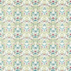 Clarke and Clarke Pieris Multi Butterfly Curtain Upholstery Craft Fabric