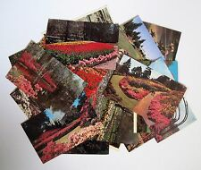 LOT of 32 Public Flower Garden Postcards All Shown - THIRTY TWO