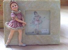 Boyds Yesterdays' Child Melissa . The Ballet #27553 Figurine picture fram