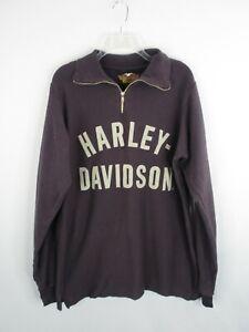 Harley Davidson Pull Over Sweatshirt Size L