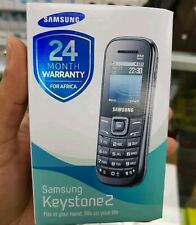 NEW Samsung Keystone 2 GT-E1205Y - Black (Unlocked) Mobile Phone 100%GENUINE
