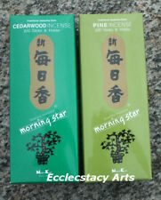 Morning Star Cedarwood - Pine Incense 400 Sticks Nippon Kodo Japanese Incense