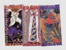 CROATIA SC 228-30 NH issue of 1995 - MODERN ART