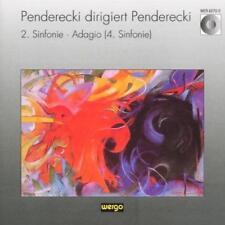 Krzysztof Penderecki • 2. Sinfonie CD Gebraucht - mit Autogramm
