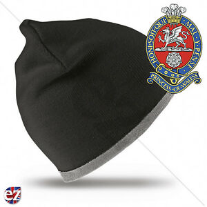 Princess of Wales Royal Regiment - Beanie Hat with Embroidered Badge