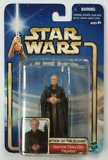 Star Wars Attack Of The Clones Supreme Chancellor Palpatine Action Figure MOC
