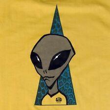 Alien Workshop M Visitor T-Shirt Habitat Skateboards Extraterrestrial Grey E.T.