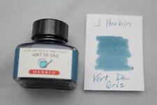 J HERBIN BOTTLED FOUNTAIN PEN INK 30ML VERT DE GRIS