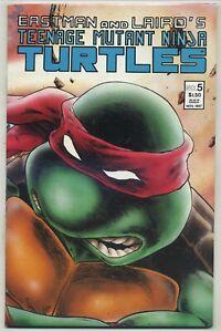 Teenage Mutant Ninja Turtles 5 Second Printing Eastman Cover High Grade