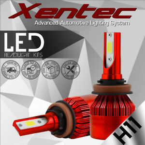 H11 Low Beam LED Headlight Bulbs for Toyota Camy 2007-2017/ Sienna Tacoma Prius