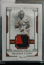 2016 National Treasures Collegiate Brandin Cooks Oregon State Materials# 1 of 1