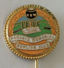 Panania Memorial Bowling Club Pin Badge Rare Vintage (K7)