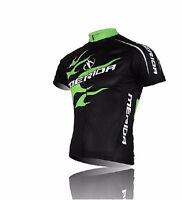 2016 Cycling Clothing Bike Bicycle short sleeve Green Fire cycling jersey TOP