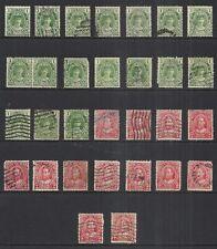 NEWFOUNDLAND SCOTT 104 & 105 USED STOCK - 1911 ROYALTY ISSUES  CAT $17.25