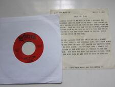 JAIM Ship of Time Running Behind with lyric insert Acid Archives