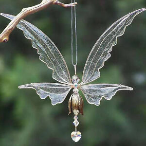 EXQUISITE EPOXY FAIRY  ANGEL WIND-BELL WINDOW DECORATIVE WIND CHIME
