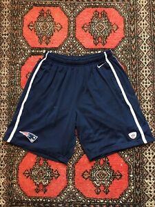 Nike New England Patriots NFL Equipment Shorts Men's XL