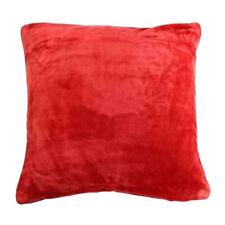 Housse de coussin polaire Rouge 60 x 60 cm