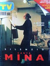 TV Sorrisi e Canzoni n°48 1996 Nuovo Album di Mina - Natalia Estrada  [D1]