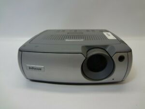 InFocus LP540 400:1 1700 ANSI Lumens LCD Video Projector w/Lamp *No Remote*