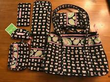 Vera Bradley Pink Elephant collection purse,hand bag,wallet,checkbook,cosmetic