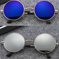 Retro Fashion Sunglasses Vintage Mirrored Round Sports Outdoor Driving Eyewear