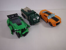 Transformers Lot Of Three As Shown Unsure If Compelte Sold For Parts