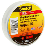 "3M Super 88 Electrical Tape 3/4"" x 44 ft."