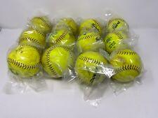 "Lot Of 12 - 12"" Softballs! ."