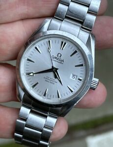 OMEGA SEAMASTER 39.5mm AQUA TERRA CO AXIAL 150M AUTOMATIC CHRONOMETER 2500