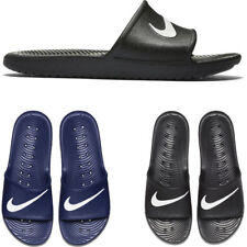 NIKE KAWA SLIDER - MENS WOMENS KIDS BEACH SHOES POOL SLIDE RRP £30 - NAVY BLACK
