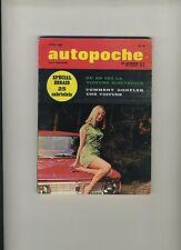 (102) AUTOPOCHE N°16/1969 OPEL GT / NSU TT / PONTIAC FIREBIRD / RENAULT 12...