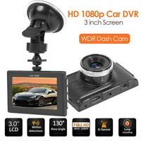 "3"" IPS HD 1080P Dual Lens Car DVR WIFI GPS Dash Cam Rearview Camera Night Vision"
