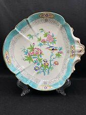 Minton & Boyle Felspar Porcelain No.3084 Cuckoo Heart Shaped Plate 1836-41, Rare